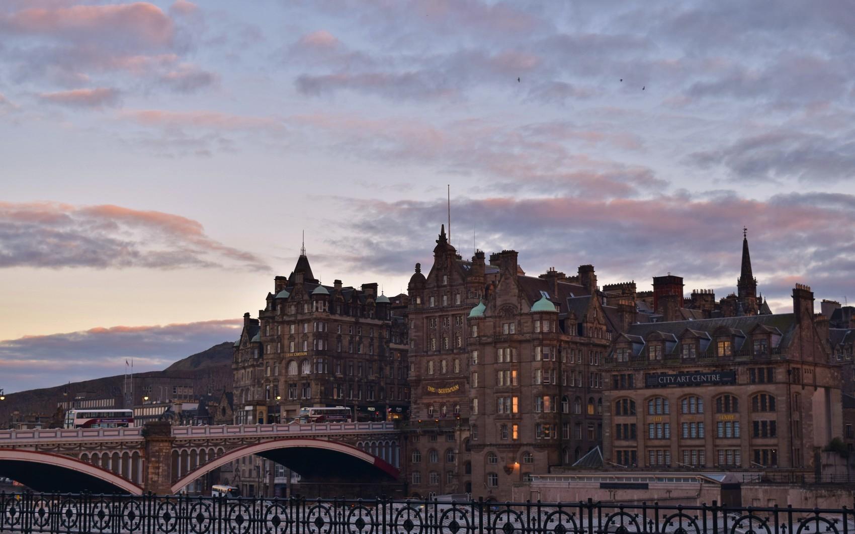 Carnet de voyage à Edimbourg
