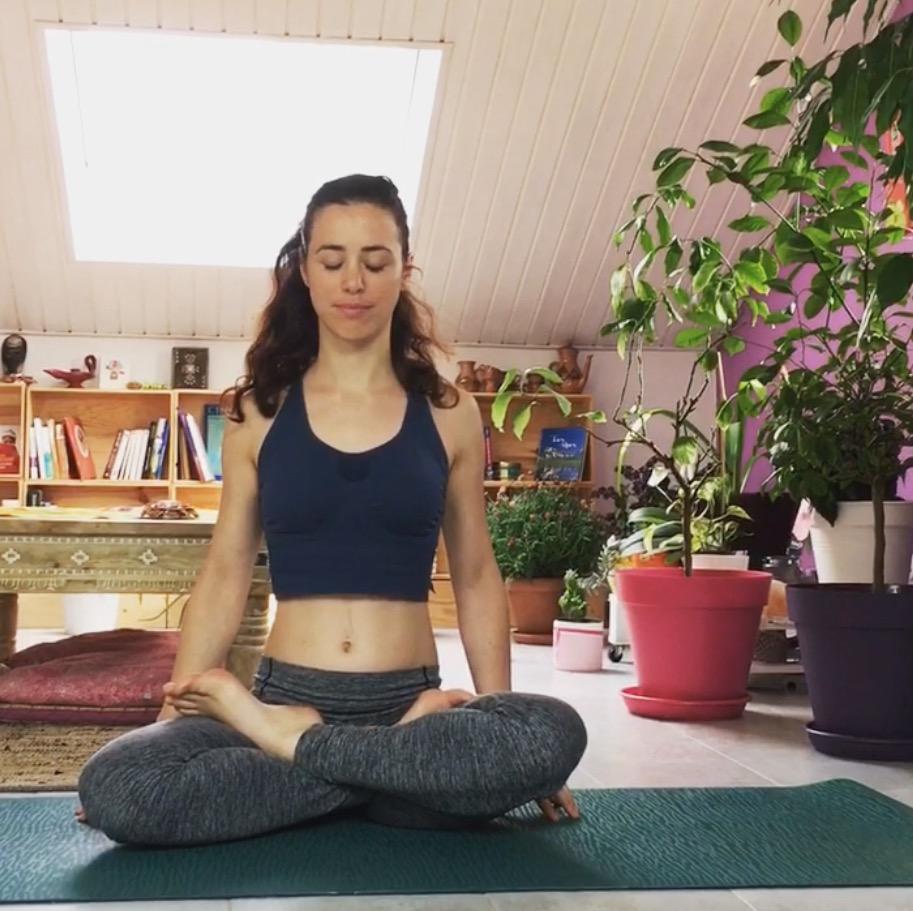 Inspiration : Isabelle, professeur de yoga et future naturopathe.