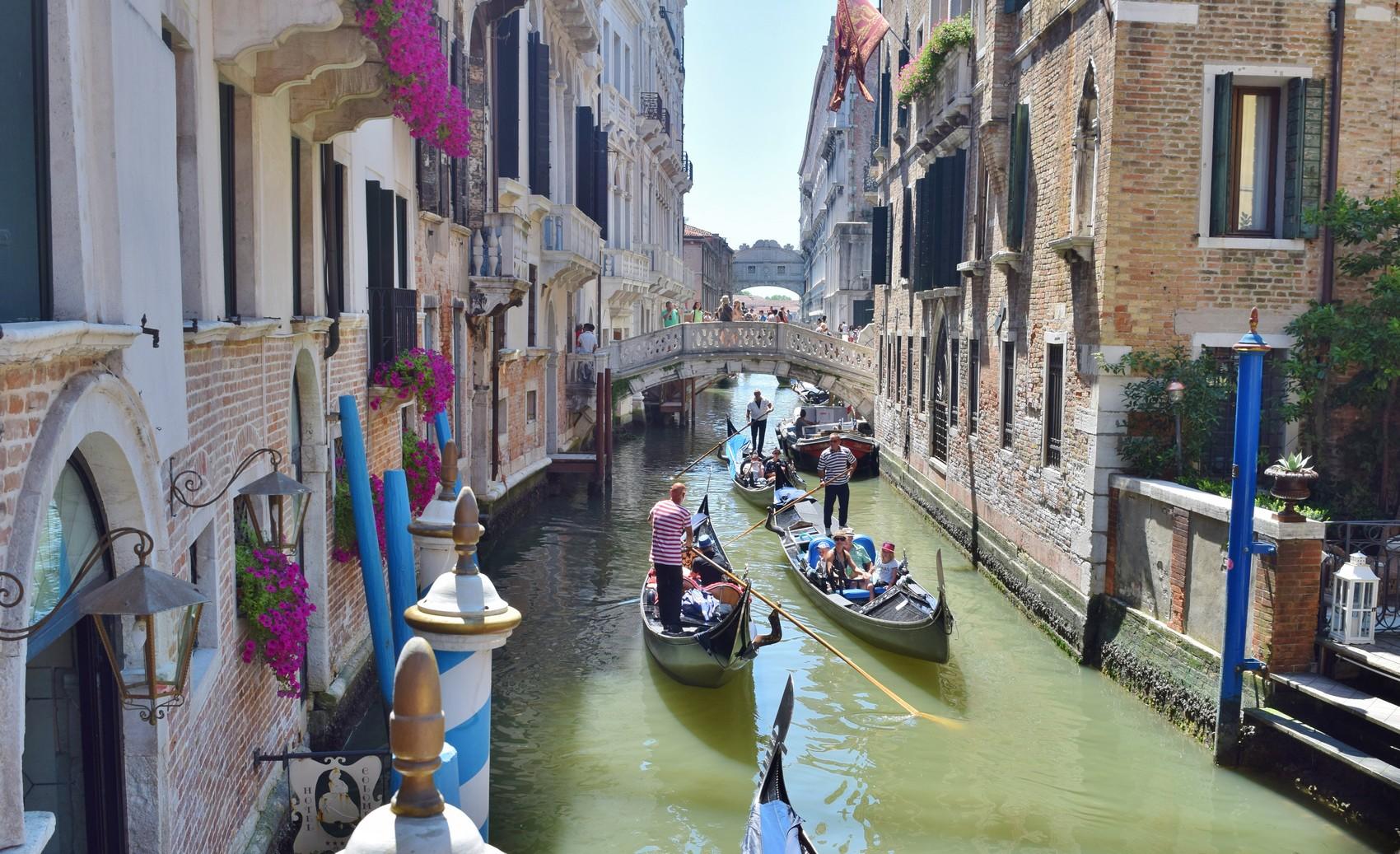 Venise en Juillet, récit d'un week-end romantique.